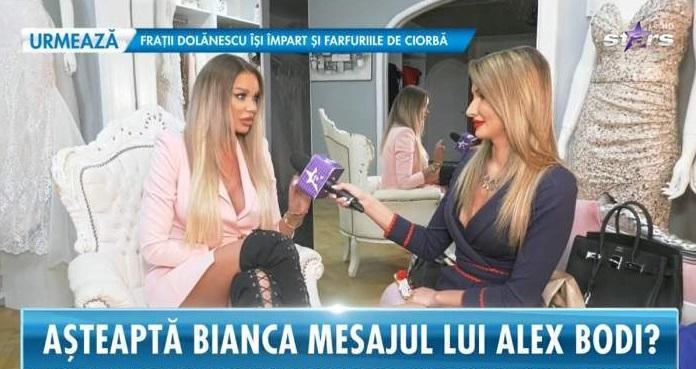 Bianca Drăgușanu a împlit vârsta de 39 de ani sâmbătă, 6 martie 2021 © captură video Antena Stars