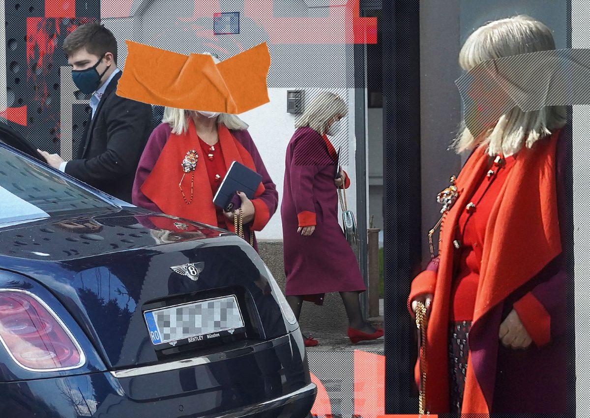"""Apariție rafinată a celei mai bogate românce. Cum am fotografiat-o pe """"Mama Catena"""""""