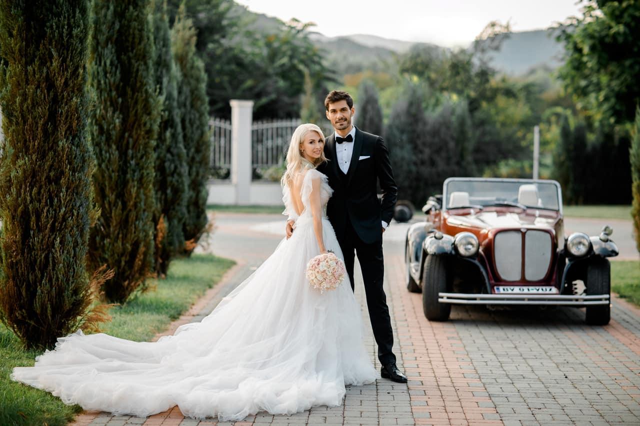 Andreea Bălan și Goerge Burcea, la nunta lor
