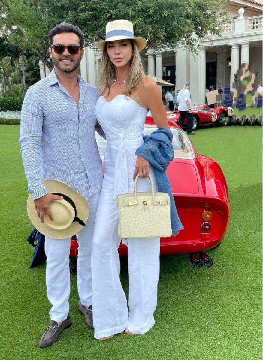 Claude, milionarul brazilian, a cerut-o de soție pe Alina Vidican pe 26 aprilie 2021, iar inelul de logodnă este superb © Facebook