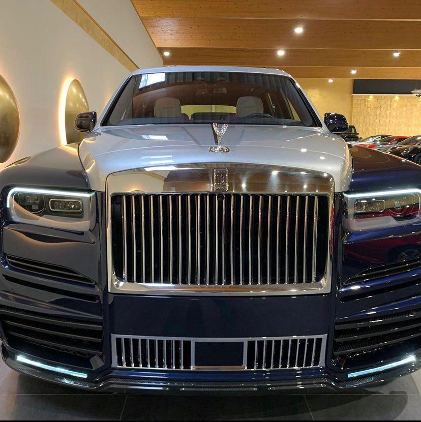 Așa arată noul Rolls Royce achiziționat de Alex Bodi